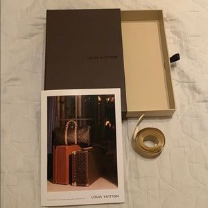 Authentic Louis Vuitton gift box set